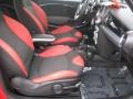 Black/Rooster Red Interior Photo for 2009 Mini Cooper #25333674