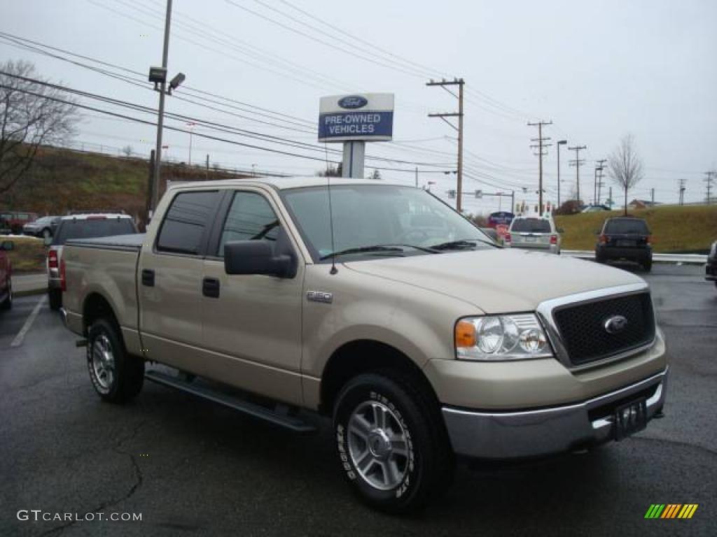 Pueblo gold metallic ford f150 ford f150 xlt supercrew 4x4
