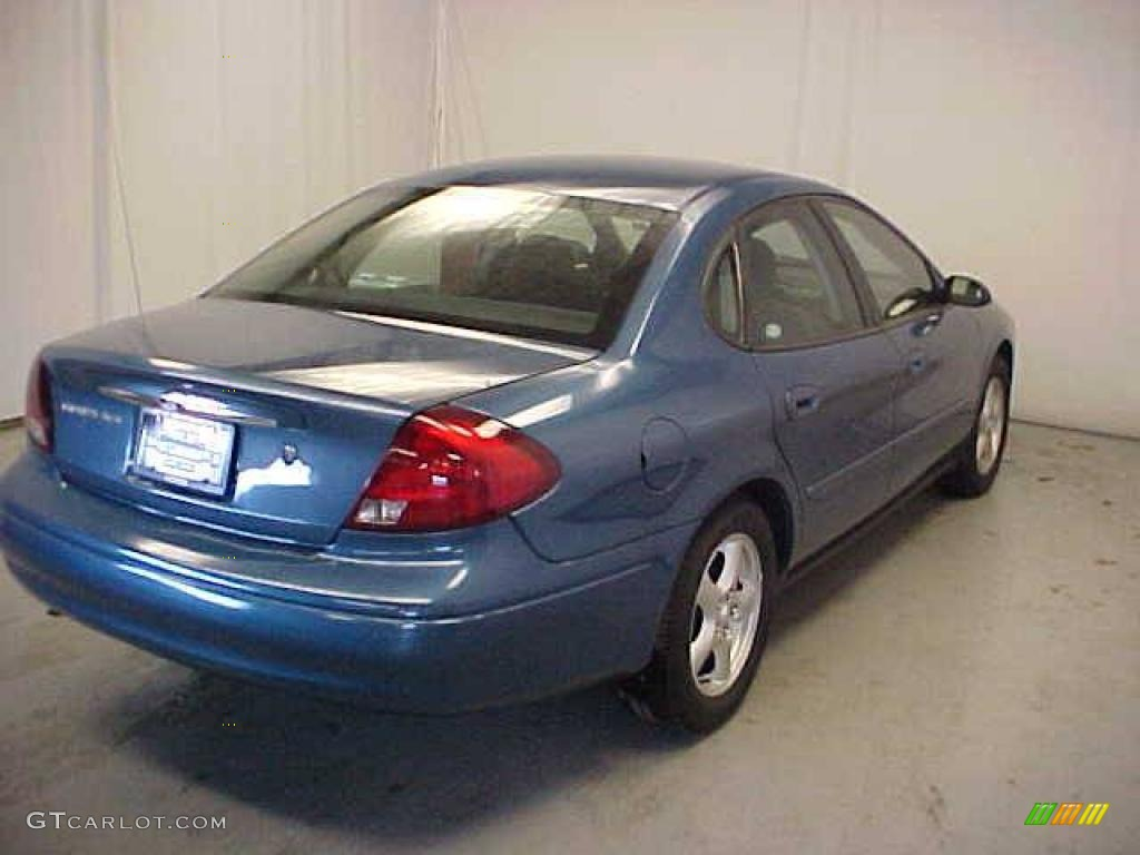 2002 Medium Royal Blue Metallic Ford Taurus Ses 25300221 Photo 23