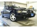 2001 Black Ford Mustang GT Convertible  photo #1
