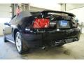2001 Black Ford Mustang GT Convertible  photo #9