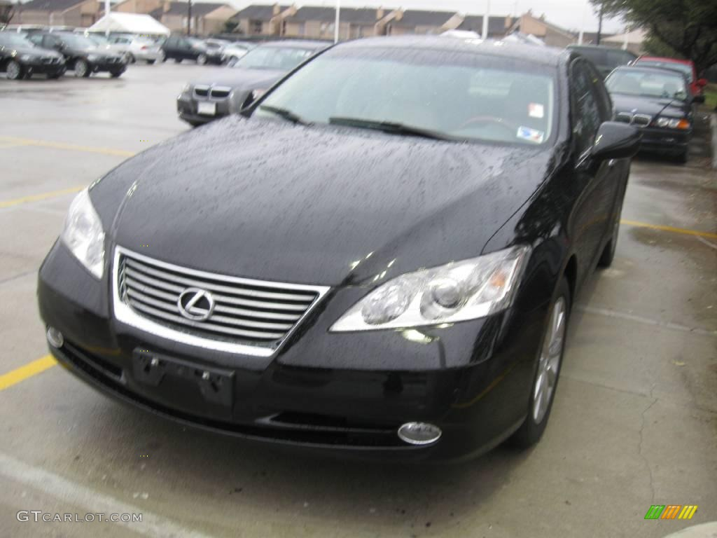 2007 black onyx lexus es 350 25352680. Black Bedroom Furniture Sets. Home Design Ideas