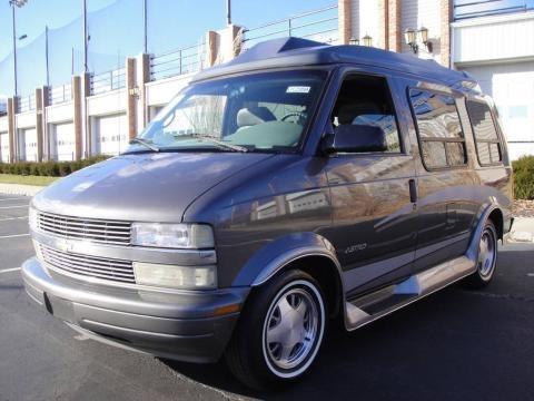 2001 Chevrolet Astro LT Passenger Van Data, Info and Specs