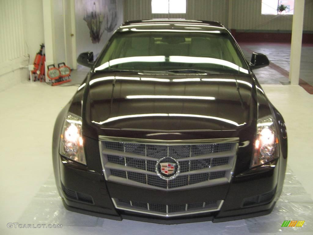 2009 Black Cherry Cadillac Cts Sedan 25352460 Gtcarlot Com Car