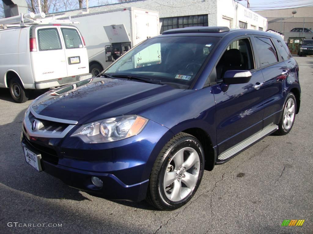 2007 Royal Blue Pearl Acura Rdx Technology 25352584 Gtcarlot Com Car Color Galleries