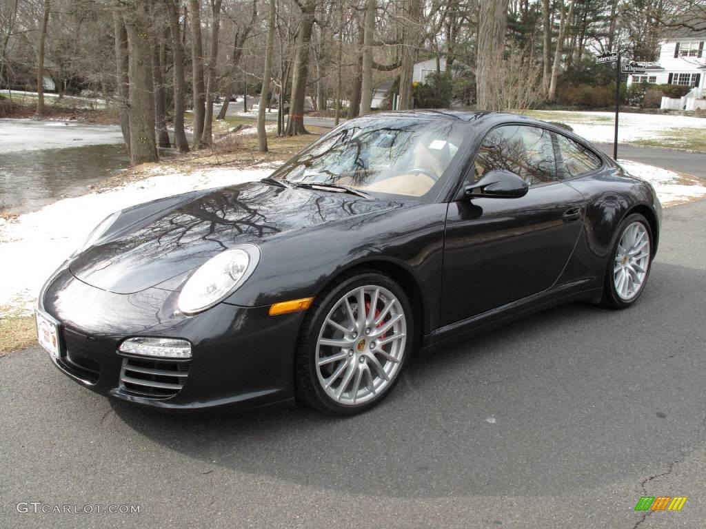 2009 atlas grey metallic porsche 911 carrera 4s coupe. Black Bedroom Furniture Sets. Home Design Ideas