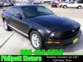 2007 Black Ford Mustang V6 Premium Coupe  photo #1