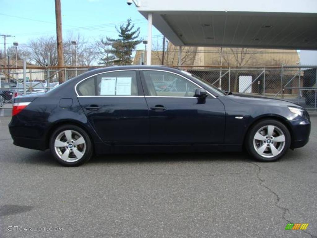 2007 monaco blue metallic bmw 5 series 525xi sedan. Black Bedroom Furniture Sets. Home Design Ideas