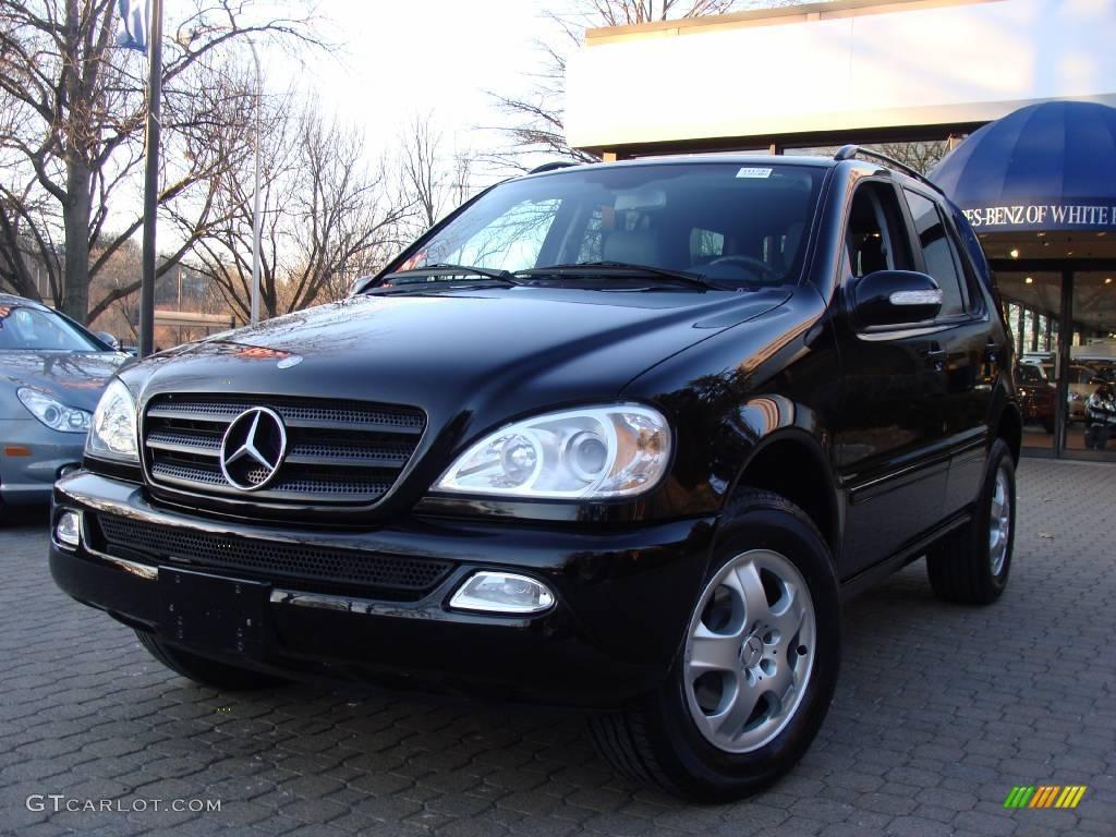 2003 black mercedes benz ml 350 4matic 25352775 for 2003 mercedes benz ml 350