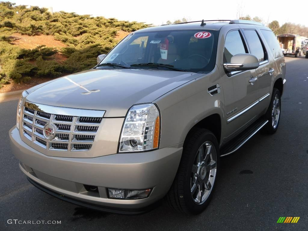2009 gold mist cadillac escalade awd 25352846 car color galleries. Black Bedroom Furniture Sets. Home Design Ideas