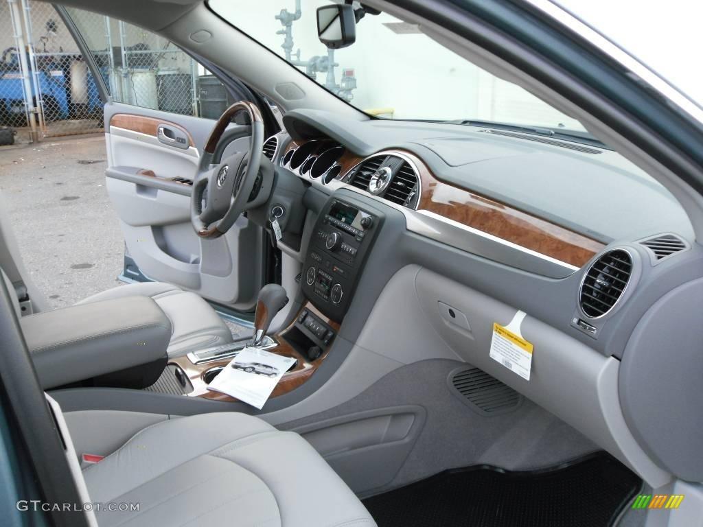 2010 Silver Green Metallic Buick Enclave Cxl 25352853 Photo 20 Car Color