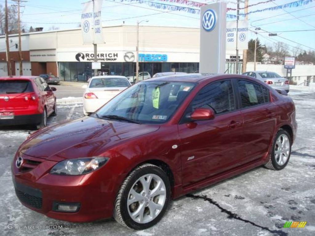 2008 Copper Red Mica Mazda MAZDA3 s Touring Sedan ...