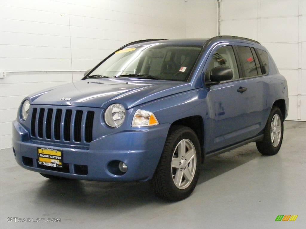 2007 marine blue pearlcoat jeep compass sport 4x4 25415203 car color galleries. Black Bedroom Furniture Sets. Home Design Ideas
