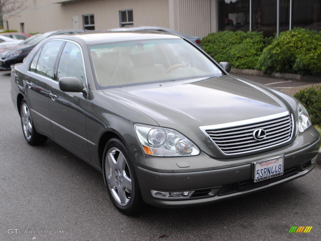 2006 LS 430   Cypress Green Pearl / Cashmere Photo #1