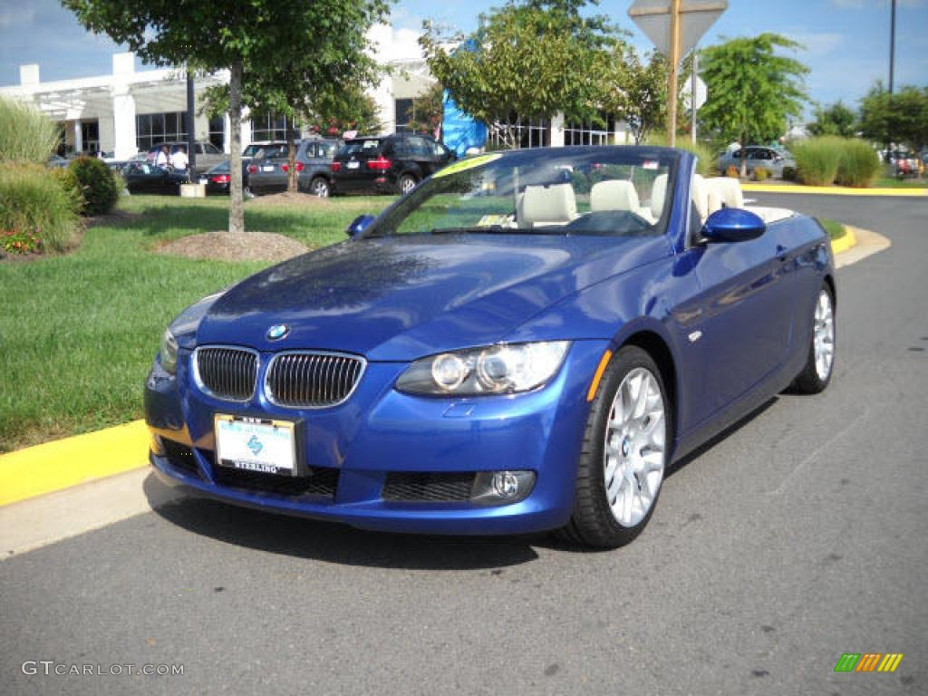 2009 Montego Blue Metallic Bmw 3 Series 328i Convertible