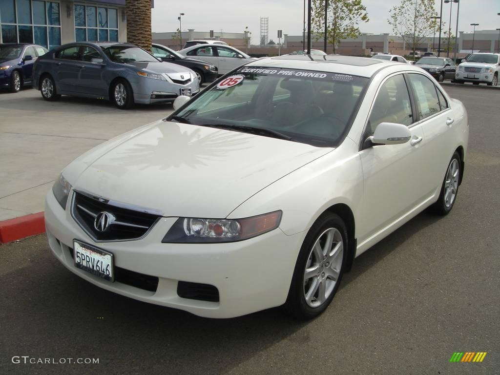 2005 premium white pearl acura tsx sedan 2540544. Black Bedroom Furniture Sets. Home Design Ideas