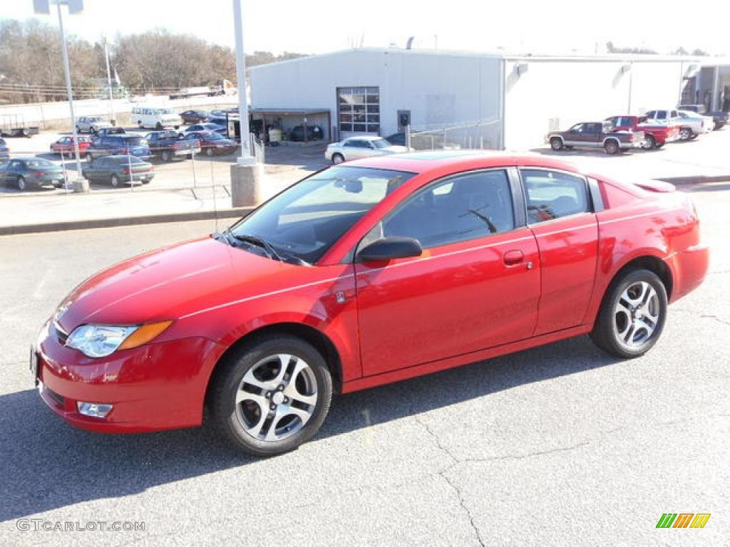 2005 chili pepper red saturn ion 3 quad coupe 25415326 photo 18 chili pepper red saturn ion vanachro Images