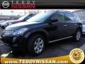 2007 Super Black Nissan Murano SL AWD  photo #1