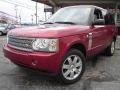 2008 Rimini Red Metallic Land Rover Range Rover V8 HSE #25464593
