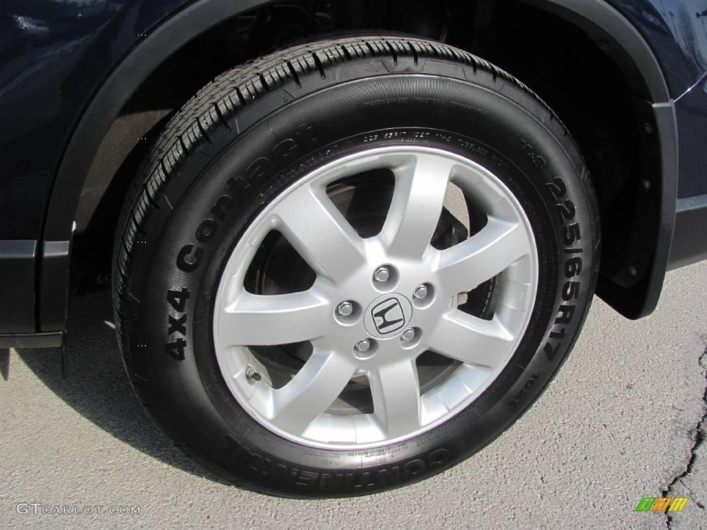 2008 CR-V EX-L 4WD - Royal Blue Pearl / Gray photo #4