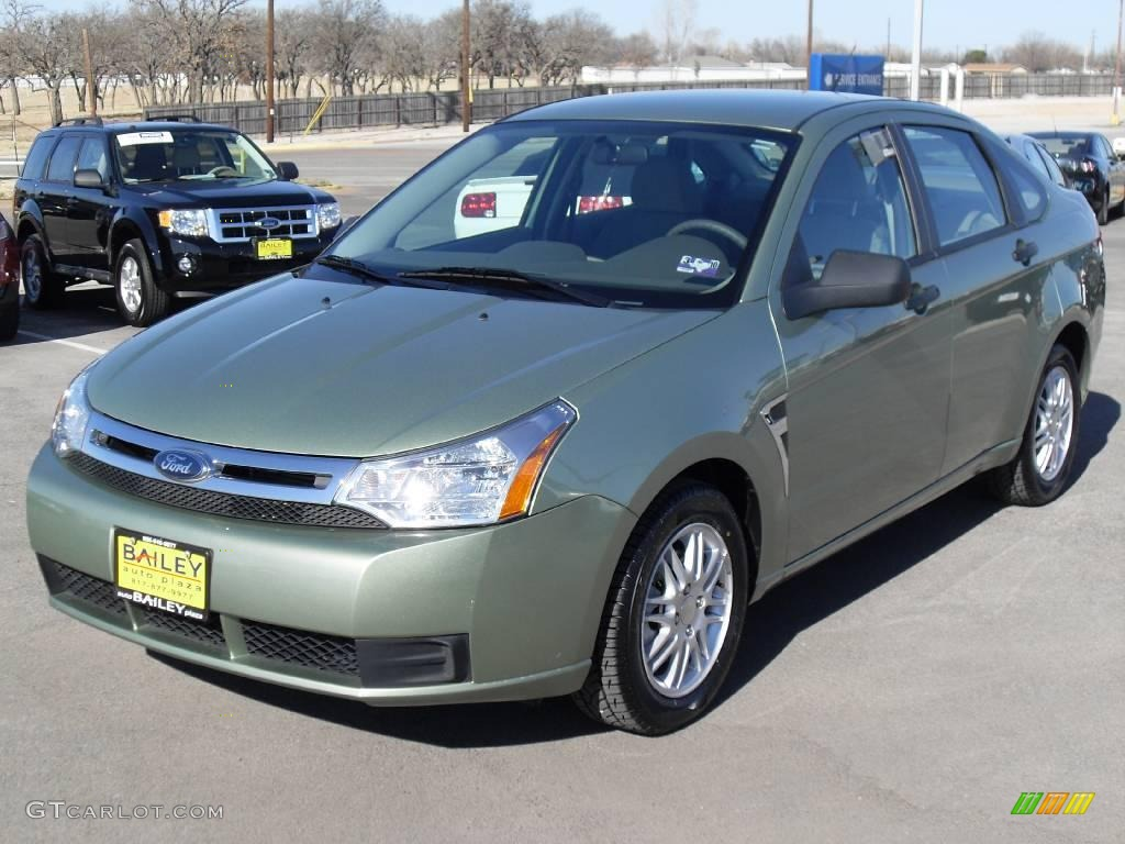 2008 kiwi green ford focus se sedan 2535840 car color galleries. Black Bedroom Furniture Sets. Home Design Ideas