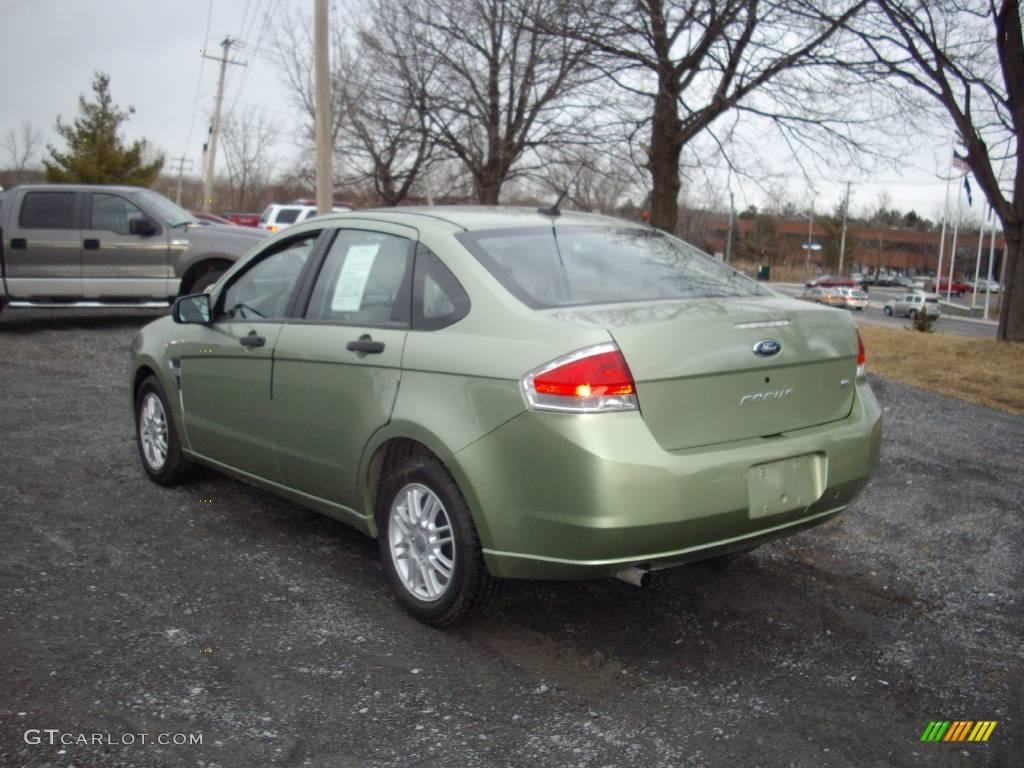 2008 kiwi green ford focus se sedan 25464355 photo 3 car color galleries. Black Bedroom Furniture Sets. Home Design Ideas