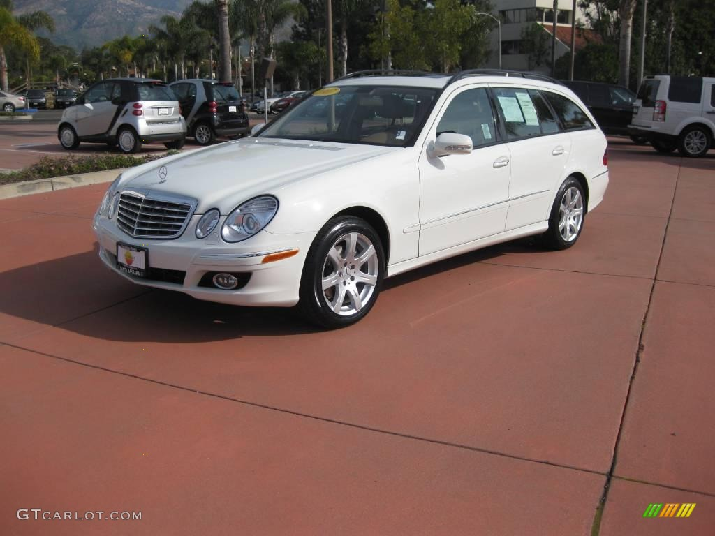 2007 arctic white mercedes benz e 350 4matic wagon for 2007 mercedes benz e350 4matic