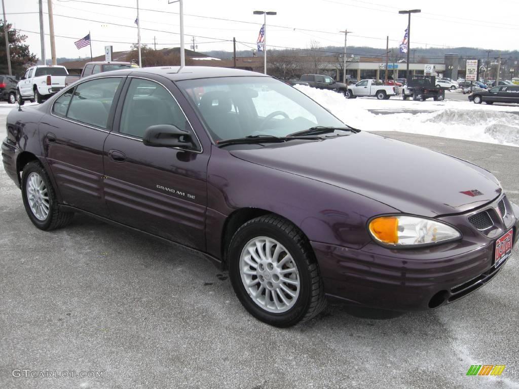 1999 medium purple metallic pontiac grand am se sedan 25464380 car color galleries. Black Bedroom Furniture Sets. Home Design Ideas