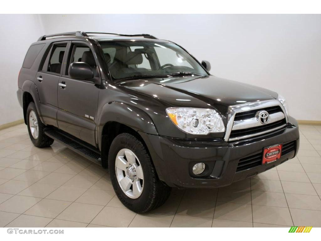 2009 shadow mica toyota 4runner sr5 4x4 25464544 car color galleries. Black Bedroom Furniture Sets. Home Design Ideas