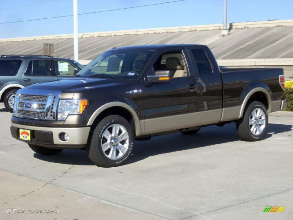 2009 stone green metallic ford f150 lariat supercab 2535088 car color galleries. Black Bedroom Furniture Sets. Home Design Ideas