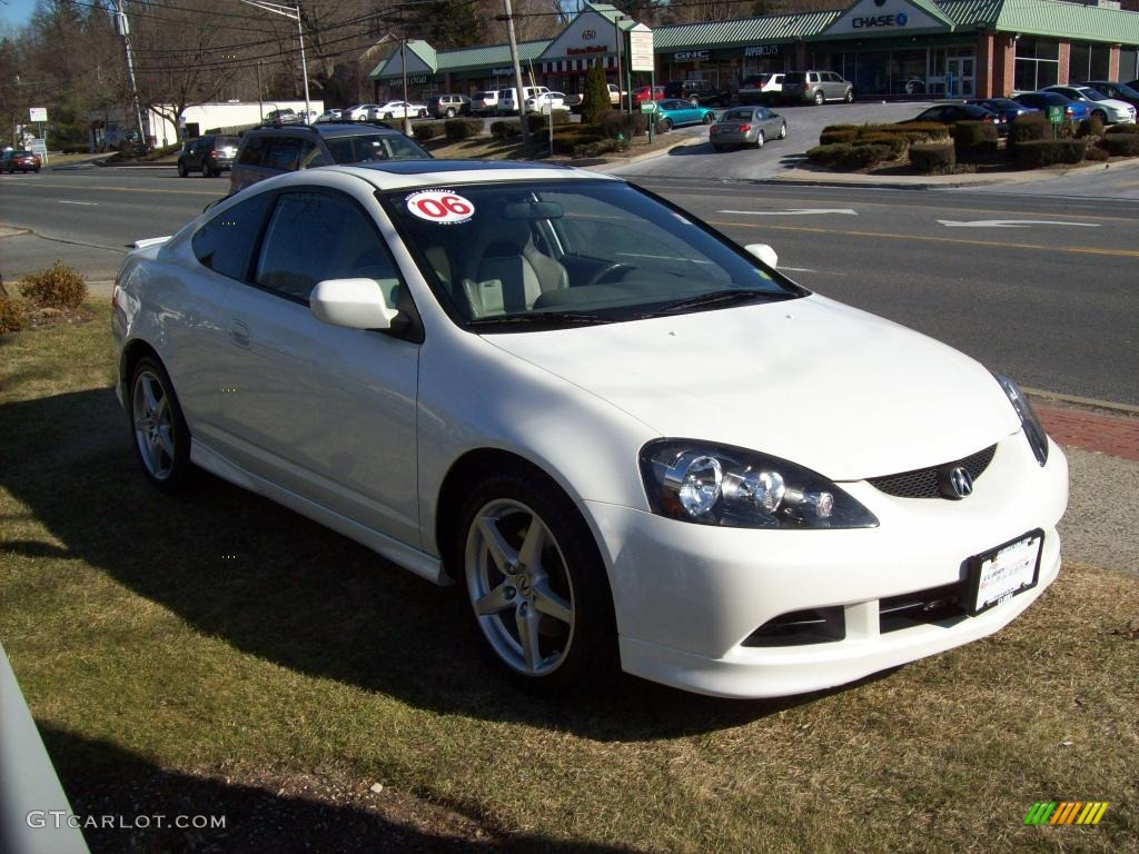 2006 premium white pearl acura rsx type s sports coupe 25501096 photo 4 car. Black Bedroom Furniture Sets. Home Design Ideas