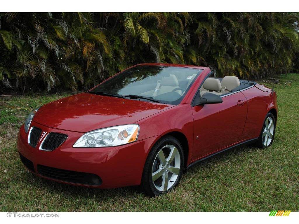 2007 crimson red pontiac g6 gt convertible 25501257 car color galleries. Black Bedroom Furniture Sets. Home Design Ideas