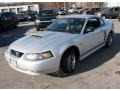 2001 Silver Metallic Ford Mustang GT Coupe  photo #1