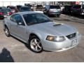 2001 Silver Metallic Ford Mustang GT Coupe  photo #3