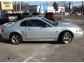 2001 Silver Metallic Ford Mustang GT Coupe  photo #4