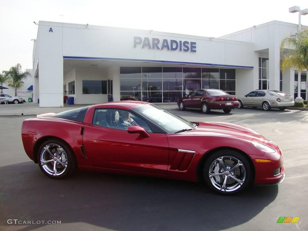 2010 crystal red metallic chevrolet corvette grand sport coupe 25501158 car. Black Bedroom Furniture Sets. Home Design Ideas