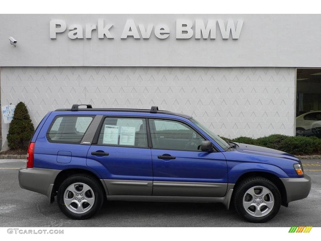 2004 pacifica blue pearl subaru forester 2 5 xs 25500854 car color galleries. Black Bedroom Furniture Sets. Home Design Ideas
