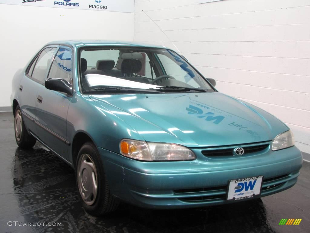 1999 mystic teal mica toyota corolla ce 25538018. Black Bedroom Furniture Sets. Home Design Ideas