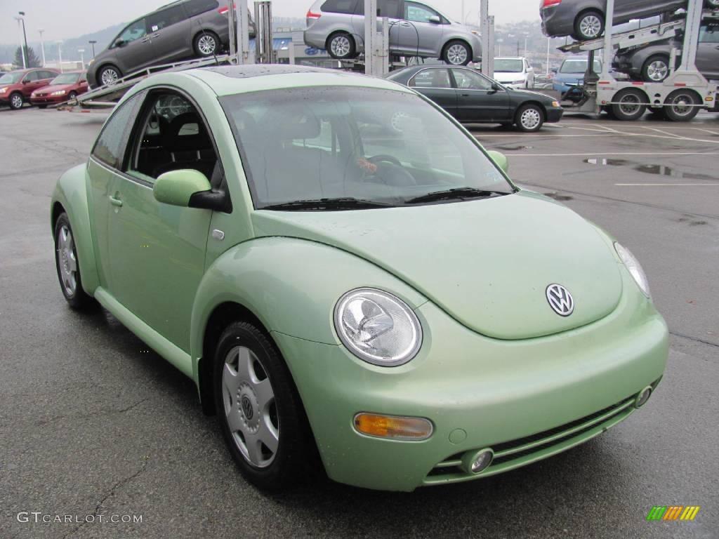 2001 Cyber Green Metallic Volkswagen New Beetle Gls Coupe 25537742 Photo 10