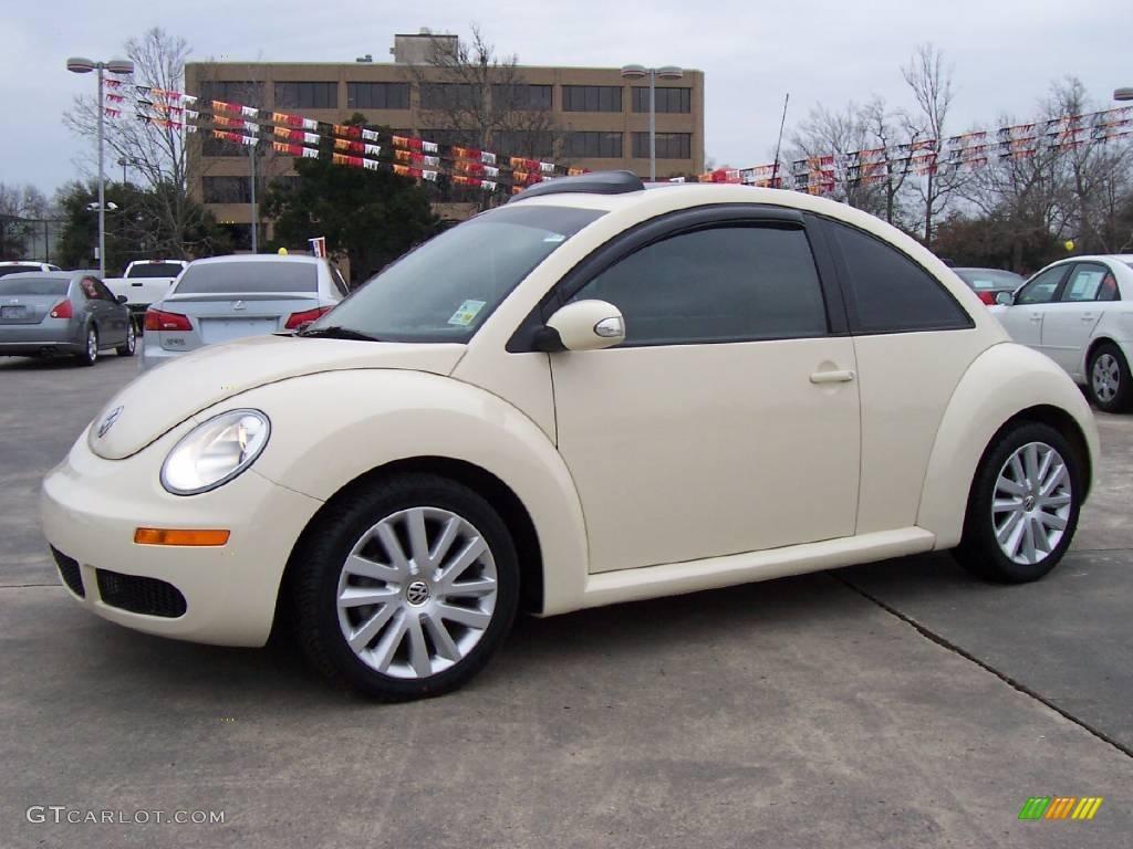 2008 New Beetle S Coupe Harvest Moon Beige Cream Photo 1