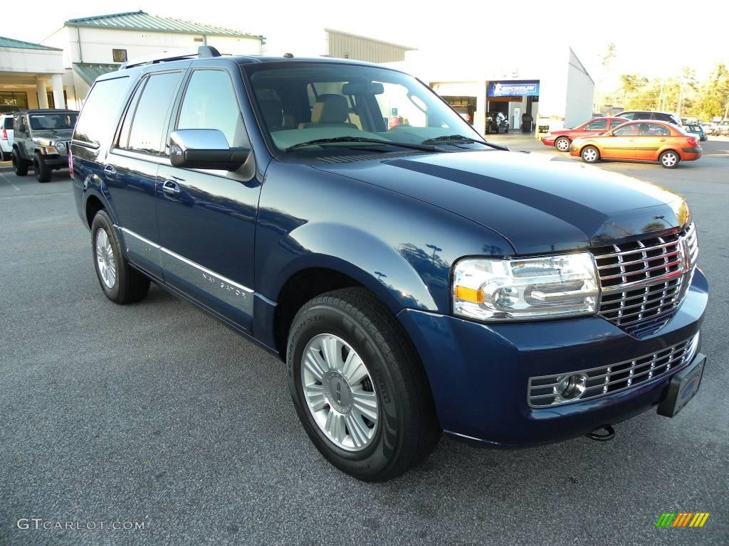 2007 Navigator Luxury - Dark Blue Pearl Metallic / Camel photo #1