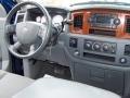 2006 Patriot Blue Pearl Dodge Ram 1500 SLT Quad Cab 4x4  photo #15