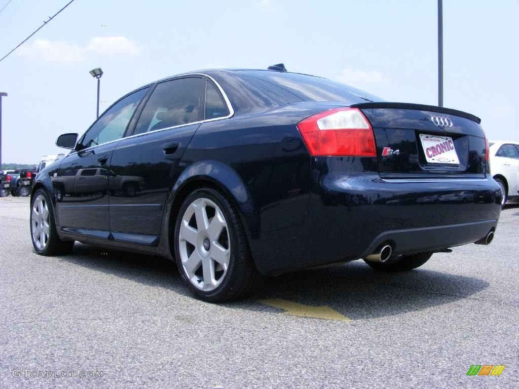 2004 Moro Blue Pearl Effect Audi S4 4 2 Quattro Sedan