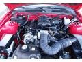 2007 Torch Red Ford Mustang V6 Deluxe Convertible  photo #23
