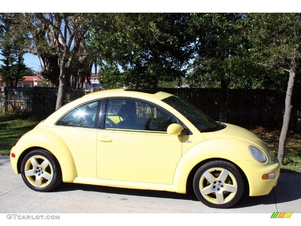 2001 Yellow Volkswagen New Beetle Sport Edition Coupe 25537838 Photo 15 Car