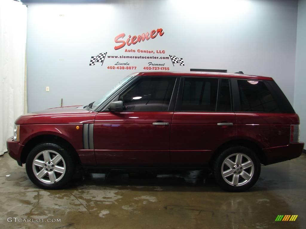 2005 alveston red mica land rover range rover hse 25581031 car color galleries. Black Bedroom Furniture Sets. Home Design Ideas