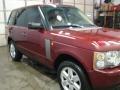 2005 Alveston Red Mica Land Rover Range Rover HSE  photo #15