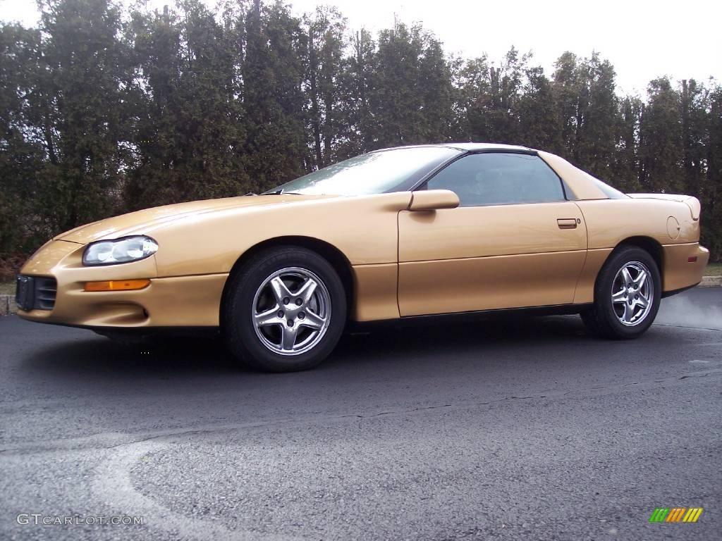 1998 Sport Gold Metallic Chevrolet Camaro Coupe 25581032 Gtcarlot