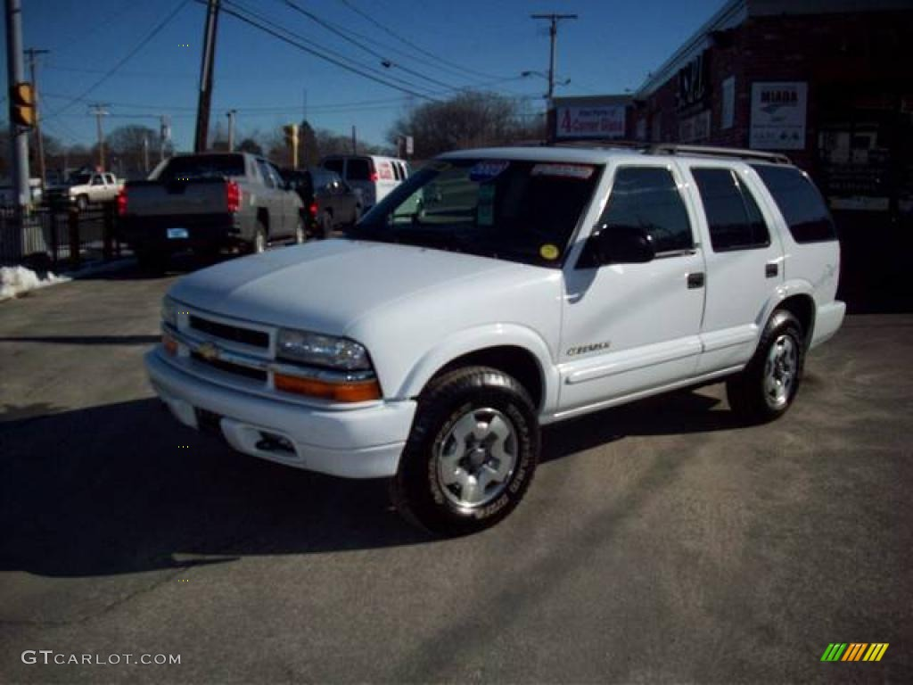 2003 summit white chevrolet blazer ls 4x4 25581205 gtcarlot com car color galleries gtcarlot com