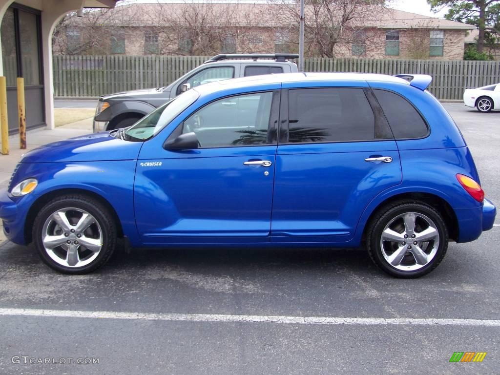 Electric Blue Pearl Pt Cruiser
